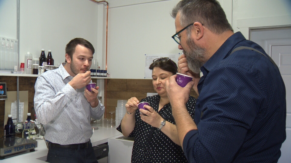 The Irnich family, behind St. Albert's Da Vinci Gelato, have worked for three years to get an alcohol-infused product approved by Alberta Gaming, Liquor and Cannabis.