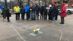In Halifax, there was a vigil on Tuesday night at Victoria Park. (JAMES KVAMMEN / CTV ATLANTIC)