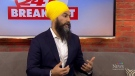 Federal NDP Leader and Burnaby South MP Jagmeet Si