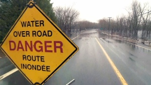 Flooding N.B.