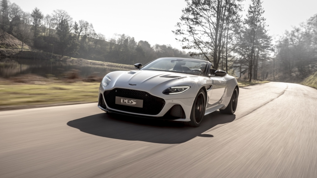 Aston Martin Unveils Its Fastest Convertible In The Company S History Ctv News Autos