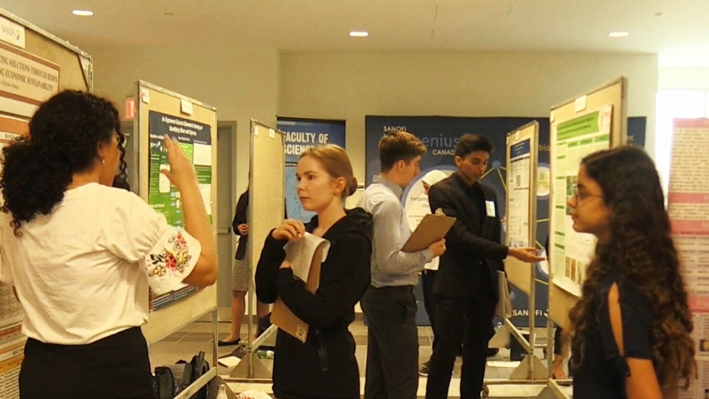Students pitch next wave of science research for national 'Biogenius' competition