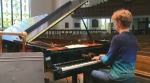 Piano prodigy takes the stage
