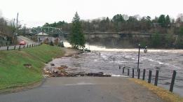 Flooding in Bracebridge, Ont., Wednesday, April 24, 2019. (CTV News)