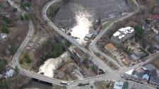 Bracebridge, Ontario flooding