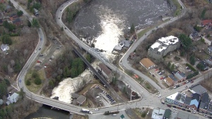 Bracebridge, Ontario flooding