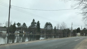 Minden Hills declares a state of emergency due to flooding on Wed. Apr. 24, 2019 (Minden Hills Fire Department)
