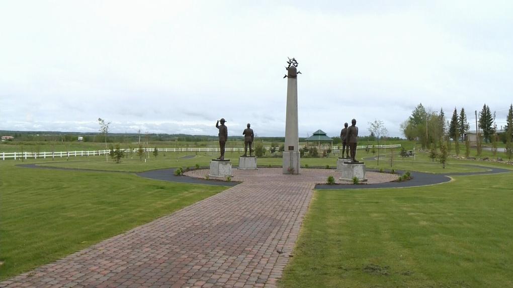 Fallen Four Memorial needs repair