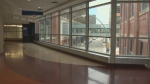 The skywalk through Bell MTS Place reopens Monday. (File image)