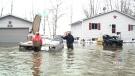Serious flooding on Dalhousie Lake