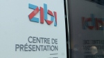 Sneak peek of the Zibi observation tower