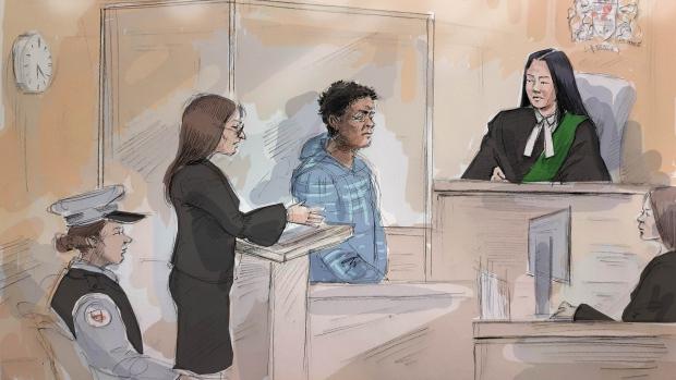 Edison Diamante, 44, appears in court on April 24, 2019. (Alexandra Newbould)