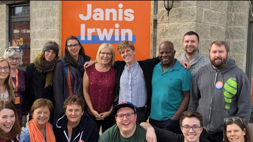 MLA-elect Janis Irwin won the Edmonton-Highlands-Norwood riding in the election, and two days later, found a $100,000-winning lottery ticket.
