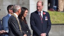 Prince William in Wellington
