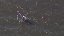 Sailboat sank in Vancouver
