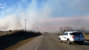 Strathcona County RCMP responded to a grass fire in the area of Range Road 220 and Township Road 554 at approximately 7 p.m. (RCMP)