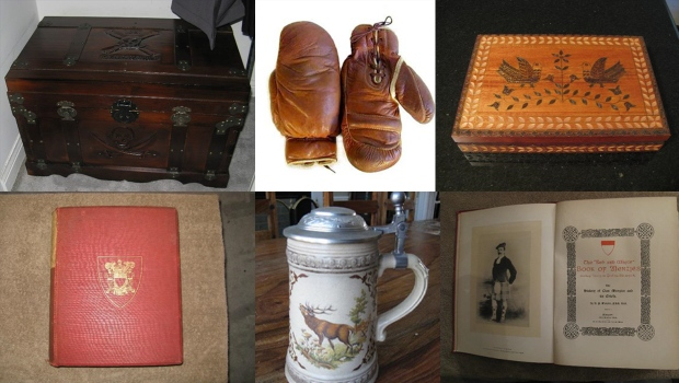 Stolen heirlooms - moving company storage