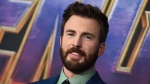 "Chris Evans arrives at the premiere of ""Avengers: Endgame"" at the Los Angeles Convention Center on Monday, April 22, 2019. (Photo by Jordan Strauss/Invision/AP)"