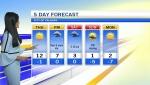 Calgary weather April 25