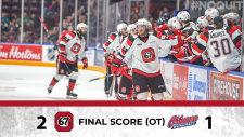 Ottawa 67's are eastern conference champions after sweeping the Oshawa Generals (Ottawa 67's/twitter)