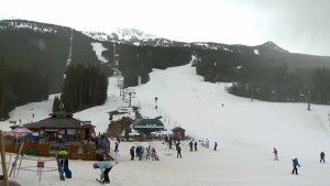 Lake Louise Ski Resort has a COVID-19 outbreak among six staff members. It was one of a dozen new outbreaks in the Calgary zone reported Friday at the COVID-19 update.