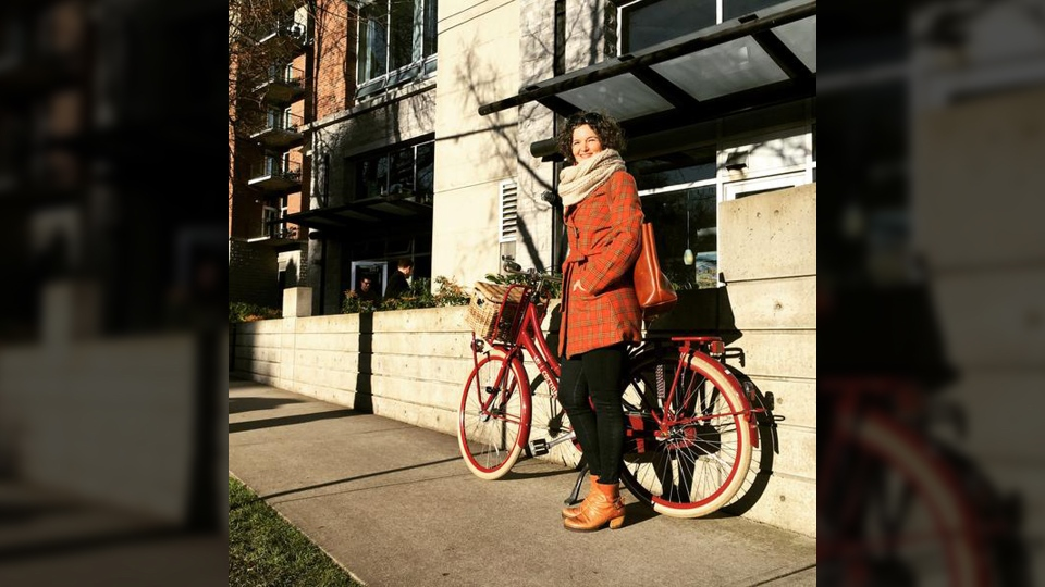 Susan Stokhof is Victoria's new 'bicycle mayor,' a position held in other cities around the world. April 25, 2019. (Lelo Victoria)