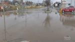 Water main break disrupts Kitchener, Waterloo