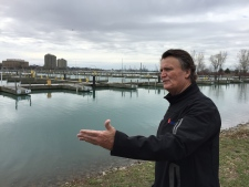 Dave Brown, owner of Sarnia Bay Marina