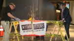 Mythbusters: The Explosive Exhibition at Telus World of Science Edmonton.
