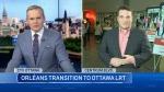 Transition to Ottawa LRT