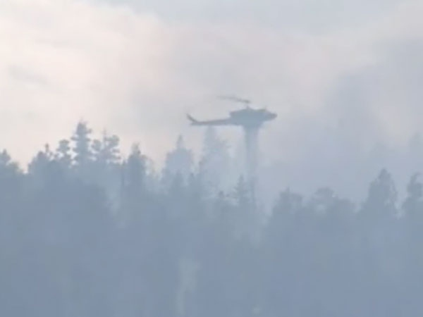 There are currently more than 800 fires burning in the B.C. and 85,000 hectares have gone up in smoke, according to government estimates. August 6th, 2009.