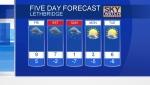 CTV Lethbridge Weather at 5 for Apr.25/19