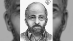 Ontario Provincial Police have released a facial reconstruction sketch of an unidentified man found dead along the Ottawa River two years ago. (Handout)