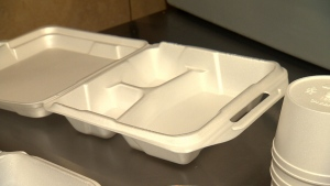 Single-use plastic and Styrofoam food packaging could be banned in Montreal by next April.
