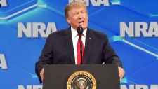 Trump, Pence address NRA conference