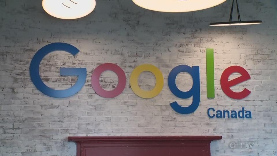 The Google sign at Google Kitchener