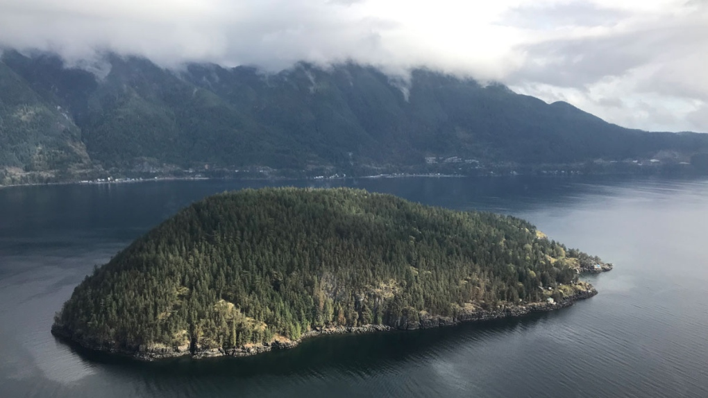 Shots from CTV News Vancouver's Chopper 9