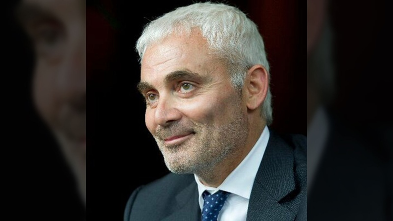 Frank Giustra is shown in a photo from Twitter.