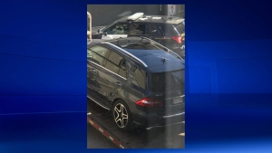 Mercedes SUV towed from Cranston