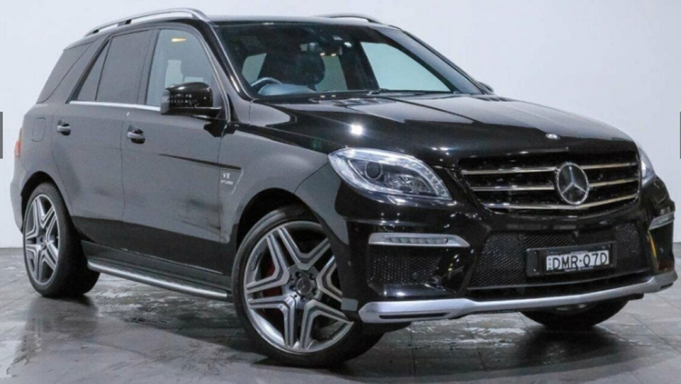 CPS released this stock image of a Mercedes Benz SUV they are looking for information on in connection with a double murder investigation. (Supplied)