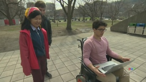 McGill students develop wheelchair