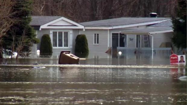 FLOOD, sainte marthe sur le lac