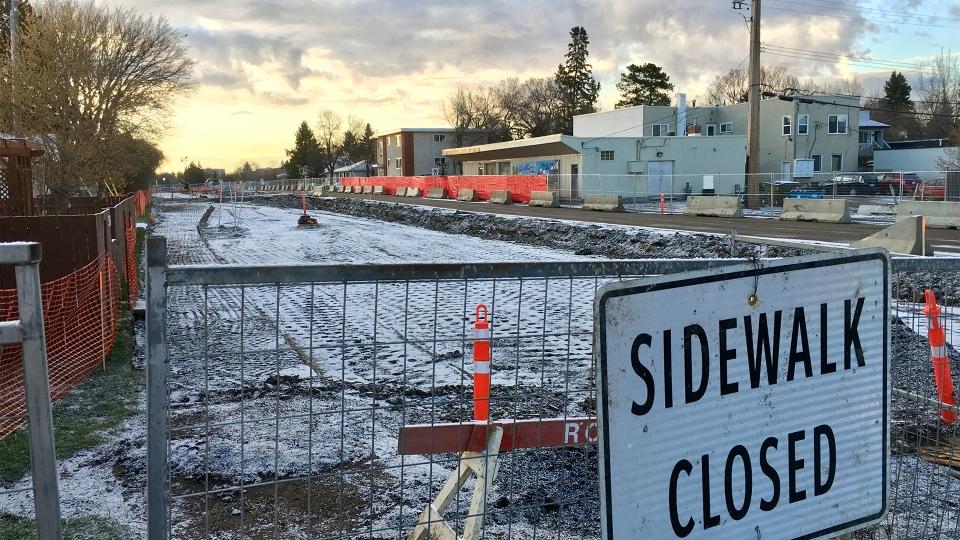 95 Avenue closure