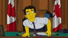 The Simpson's airs episode about Trudeau