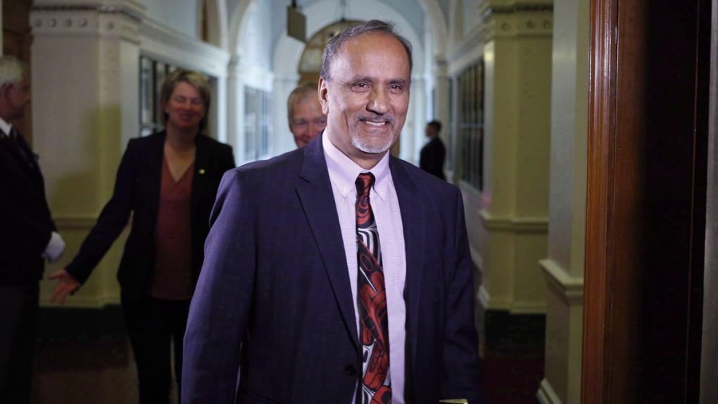 Labour Minister Harry Bains