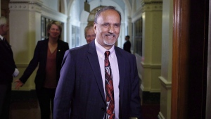 B.C. Labour Minister Harry Bains. (The Canadian Press)