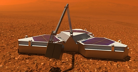 The Northern Light project aims to send a lander probe to Mars by 2011. (Air Whistle Media.)