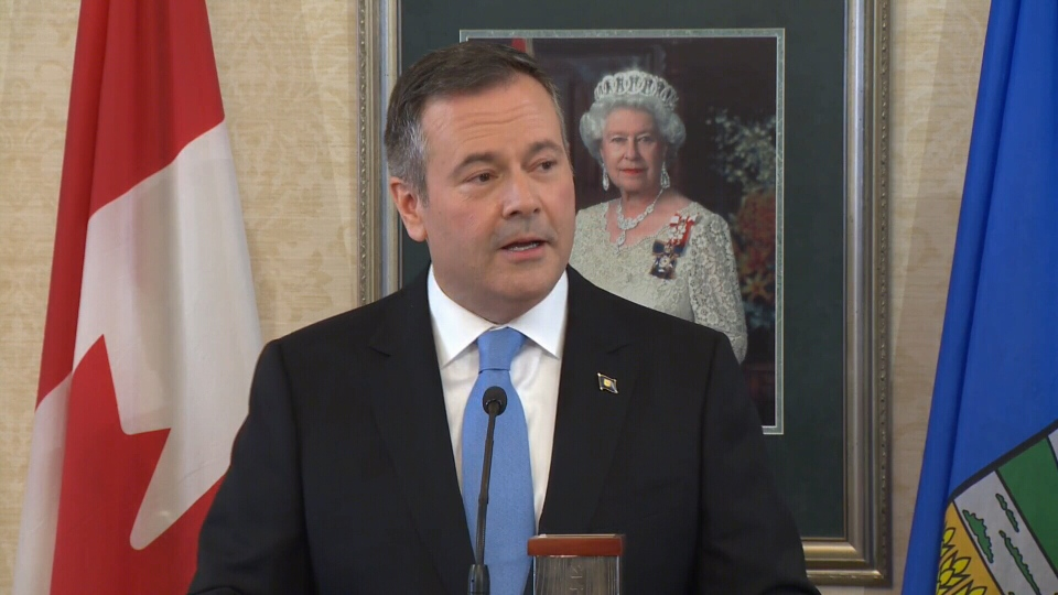 Jason Kenney swear in