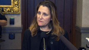 Freeland on Venezuela, death penalty for Canadian