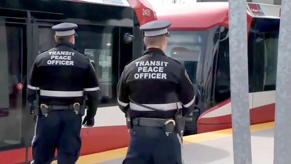 Calgary Transit peace officers